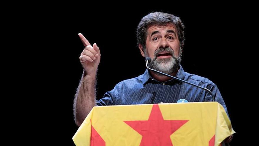 Jordi Sánchez, durante un acto de la ANC.