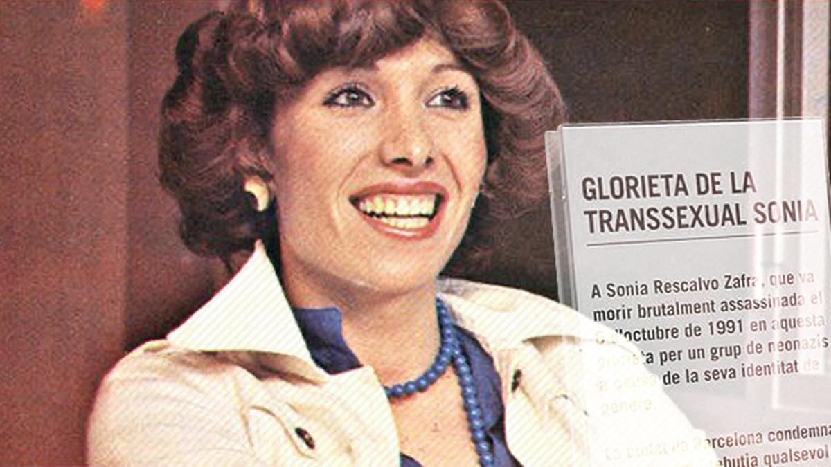 Sonia Rescalvo, fotografiada para la revista 'Lib', en una imagen recogida en 'El libro de los travestis', que conservaba en su casa la activista Beatriz Espejo