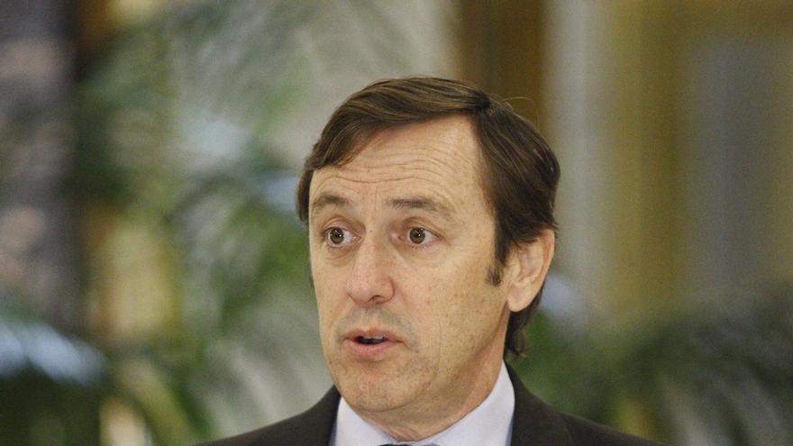 """Hernando niega """"desbandada"""" de barones del PP y dice que cada uno decide en función de sus resultados electorales"""