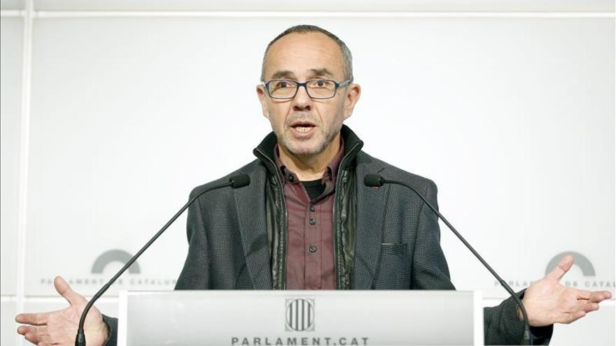 """Coscubiela pide a ERC Y DiL que """"no se inhiban"""" de lo que sucede en España"""