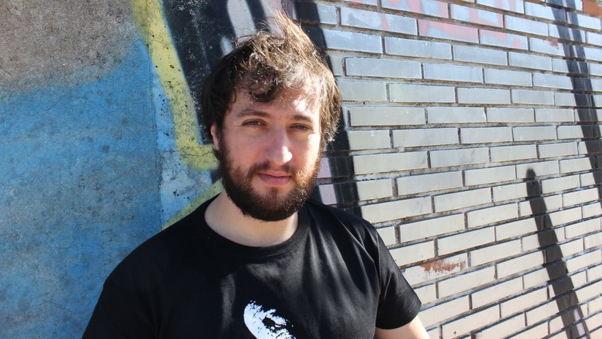 El director de cine Manuel Ortega Lasaga.