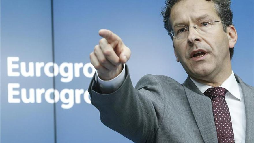 El presidente del Eurogrupo, Jeroen Dijsselbloem.