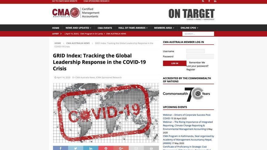 Captura de la web que ha publicado el informe