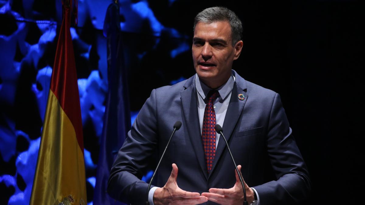 El presidente del Gobierno, Pedro Sánchez, interviene en la inauguración del IV Congreso Iberoamericano del Consejo Empresarial Alianza por Iberoamérica (CEAPI)