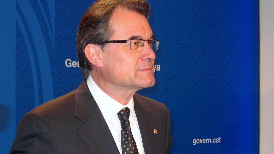 """Artur Mas admite una relación """"tensa"""" con el Gobierno pero insiste en dialogar"""