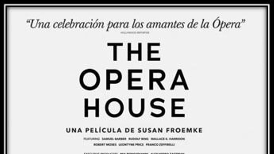 Cartel 'The opera house (Documentary)'