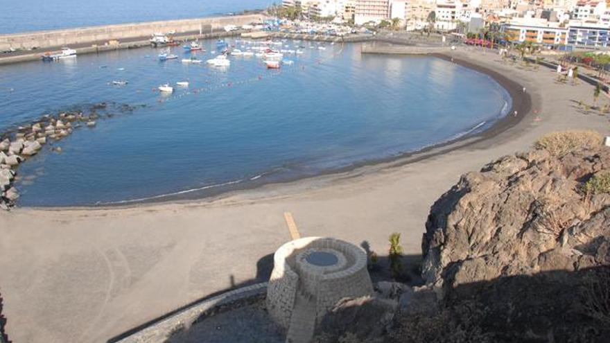 Playa San Juan, Guía de Isora.