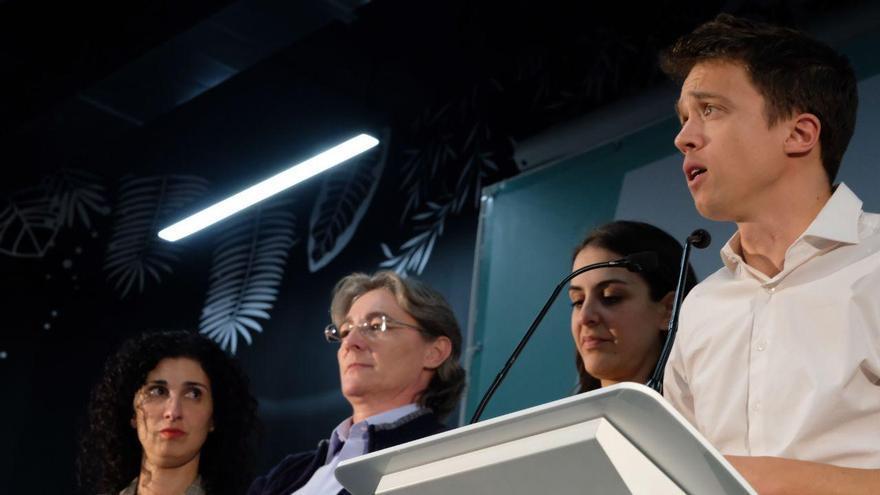 El candidato de Más País, Íñigo Errejón, valora los resultados del 10N.