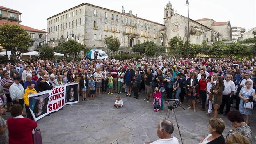 Una manifestación recuerda a Sonia Iglesias siete años después de su desaparición