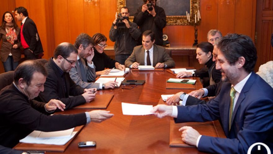 Última reunión de la Fundación Córdoba Ciudad Cultural, ya liquidada. | MADERO CUBERO
