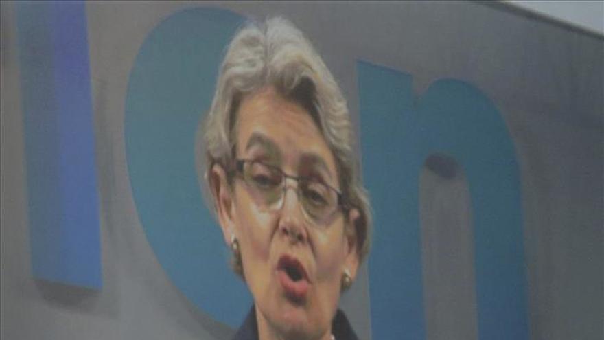 """Bokova (UNESCO): """"Los desafíos del cambio climático tienen rostro de mujer"""""""