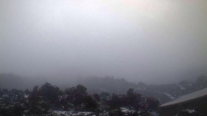 Nieve en el Teide. (TELEFÉRICO DEL TEIDE)