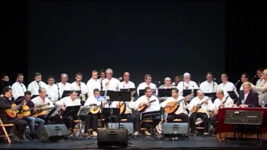 Agrupación musical Tajadre.