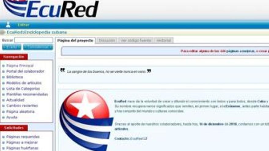 Captura de pantalla de EcuRed. (EUROPA PRESS)