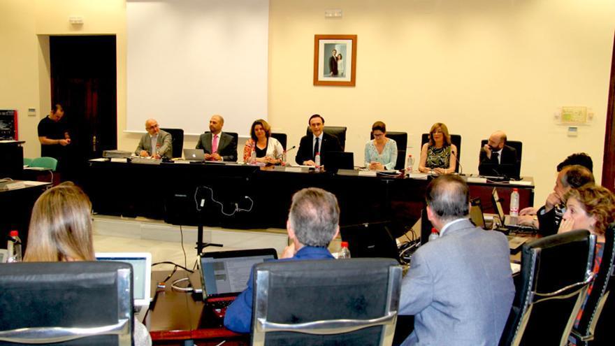 Reunión del Consejo de Gobierno de la UCO.