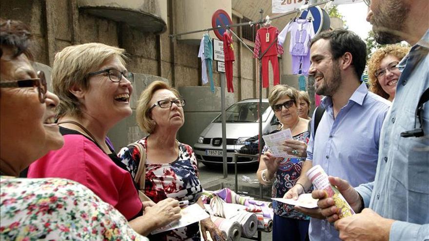 """Alberto Garzón ve a Ciudadanos con la """"oligarquía catalana"""" en lo social"""