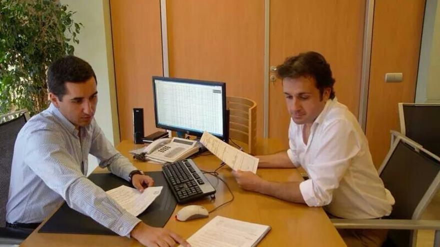 Borja Pérez y Fran Martín