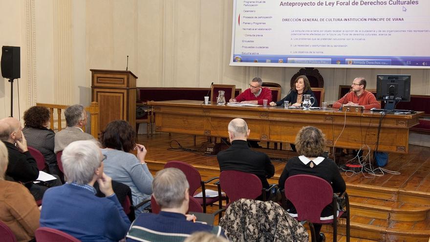 El Gobierno de Navarra presenta a la ciudadanía el anteproyecto de Ley Foral de Derechos Culturales