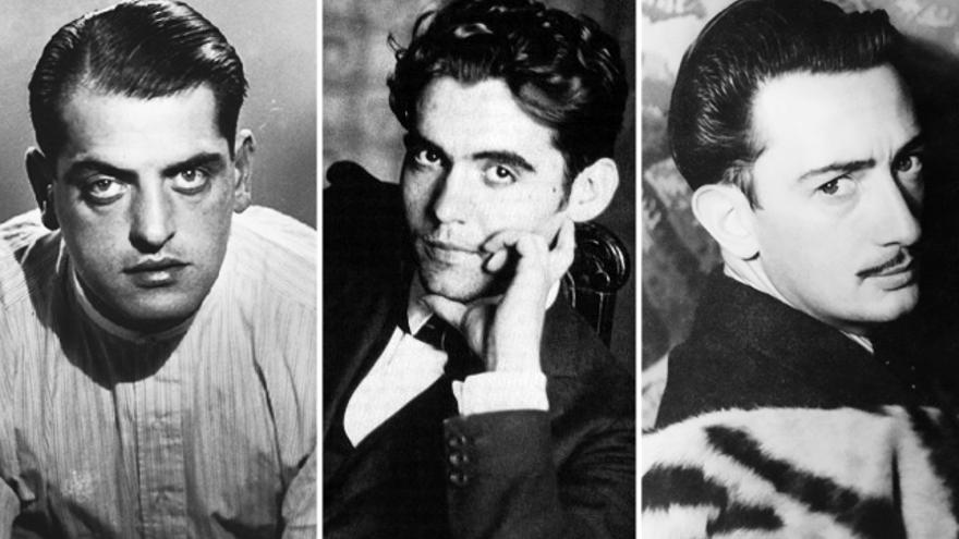 Buñuel, Lorca y Dalí