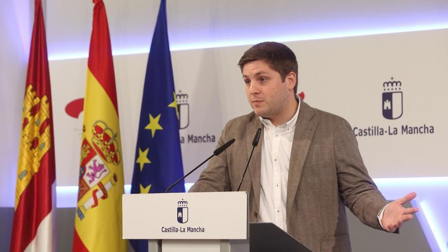 El portavoz del Gobierno de Castilla-La Mancha, Nacho Hernando