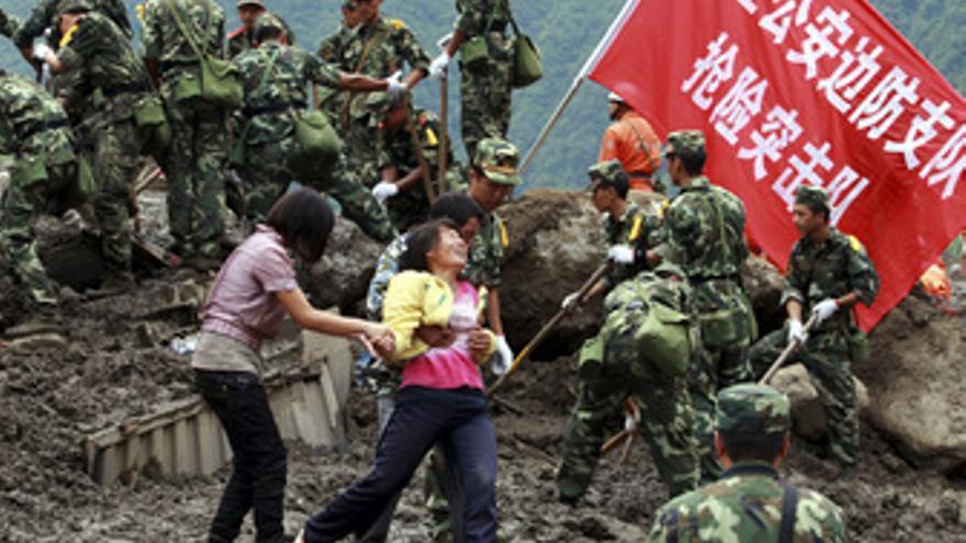 Desaparecidos en China por inundaciones