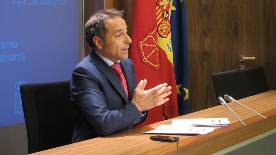 """Sánchez de Muniáin dice que el Navarrómetro detecta """"descontento"""" y que el Gobierno se orienta en """"datos objetivos"""""""