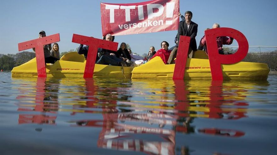 Convocan ocho protestas contra el TTIP en Alemania por la visita de Obama