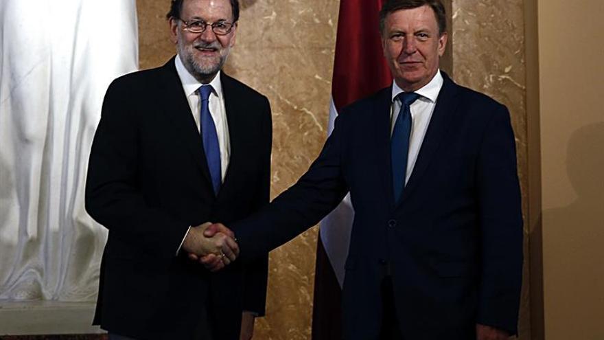Rajoy anuncia que España se propone liderar un batallón de la OTAN en los países bálticos
