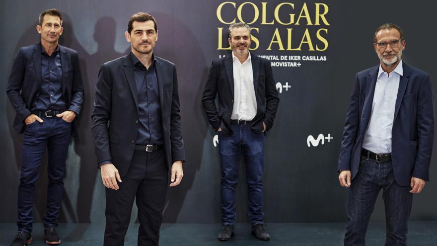 Carlos Martínez, Iker Casillas, Luis Fermoso y Álex Martínez Roig