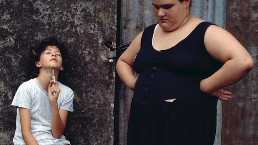 Detalle de portada de 'Panza de burro'. Foto: Alessandra Sanguinetti. Magnum Photos.