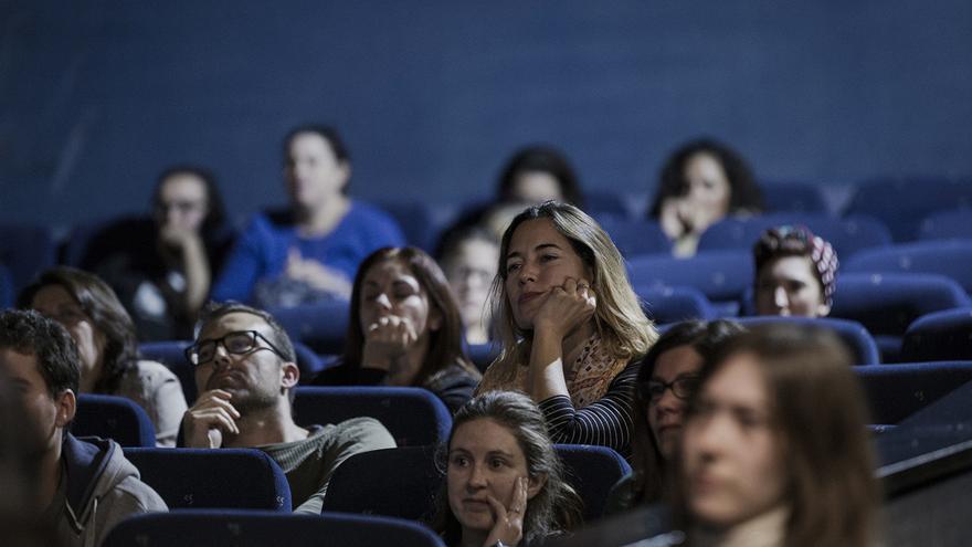 Público del Festival de Cine de Sevilla. David Vico