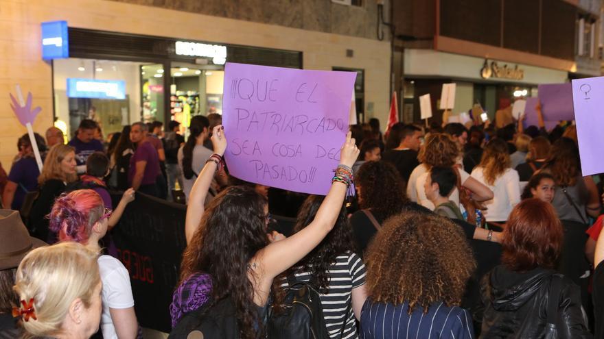 Manifestación por la igualdad en Las Palmas de Gran Canaria