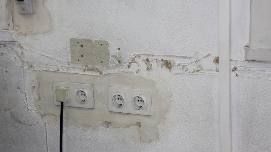 La instalación eléctrica no está en buen estado