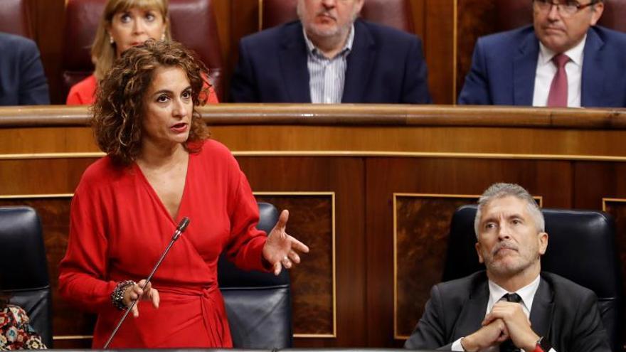 La ministra de Hacienda en funciones, la andaluza María Jesús Montero.