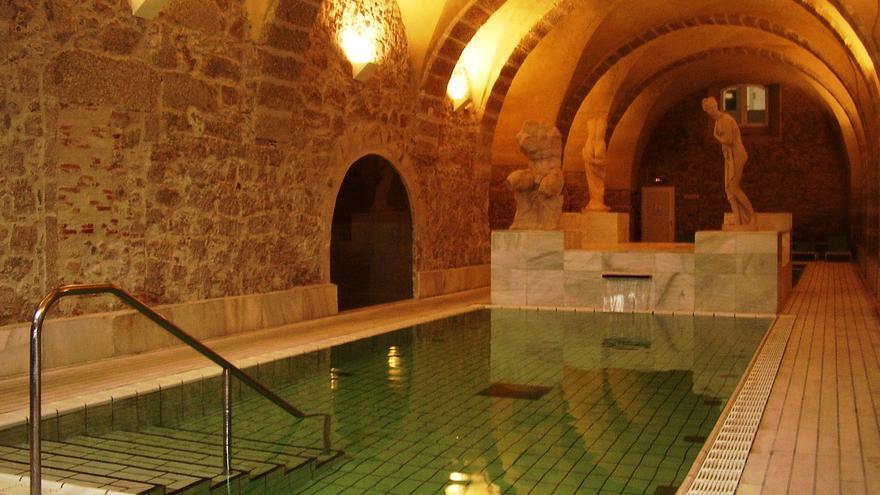 Ba os de montemayor es la nica villa termal excelente de extremadura - Balneario de banos de montemayor ...