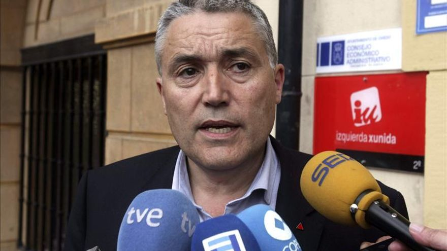 IU Asturias exige a Ángel González que dimita como diputado tras su condena