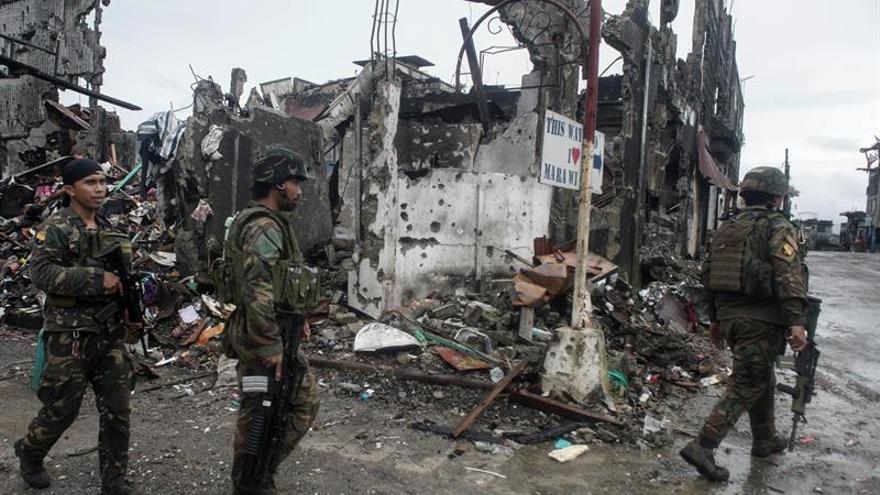 Diez yihadistas muertos en un ataque aéreo del Ejército en Filipinas