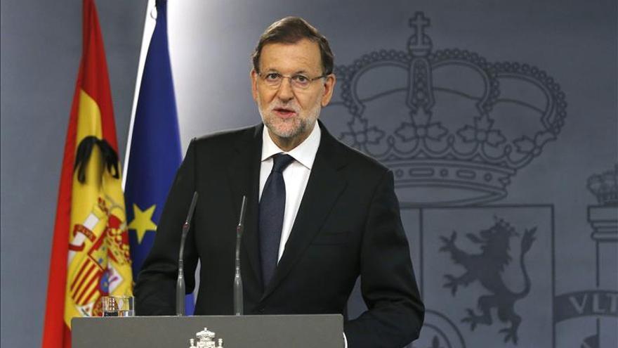 Rajoy envía un mensaje de tranquilidad ante la amenaza terrorista