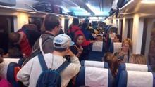 Así iban en hora punto los Cercanías Valencia-Castellón