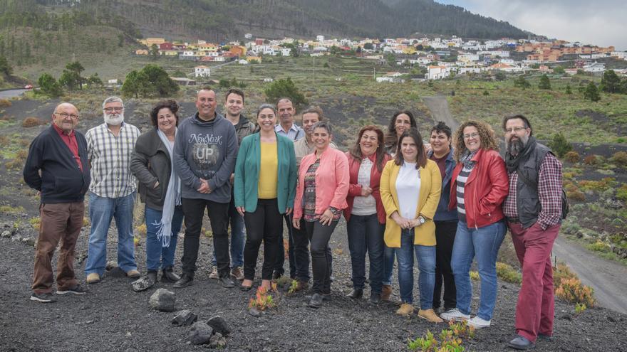 Miembros de Unión Progresista de Fuencaliente.