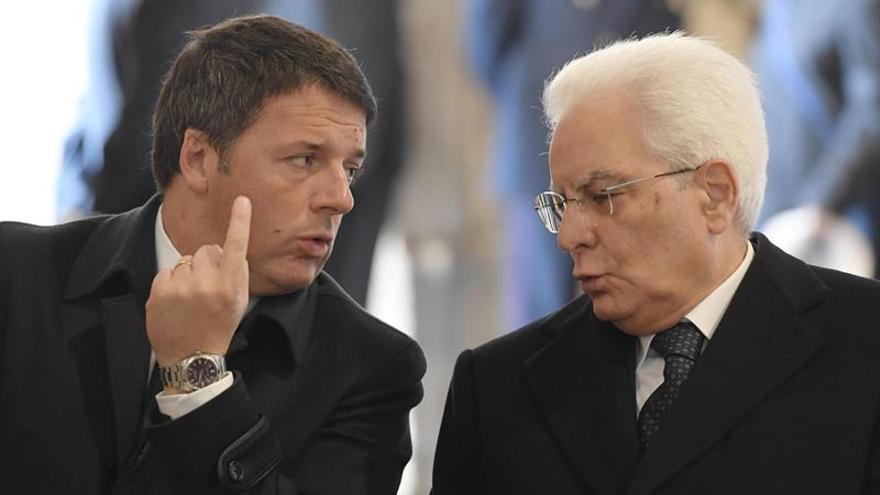 """El presidente de Italia, Sergio Mattarella, pide """"serenidad y respeto"""""""