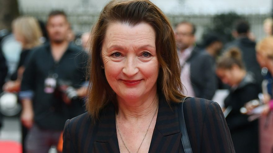 La actriz británica Lesley Manville.