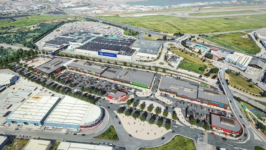 El nuevo parque comercial de Maliaño llega al 80% de ocupación y abrirá a finales de 2020