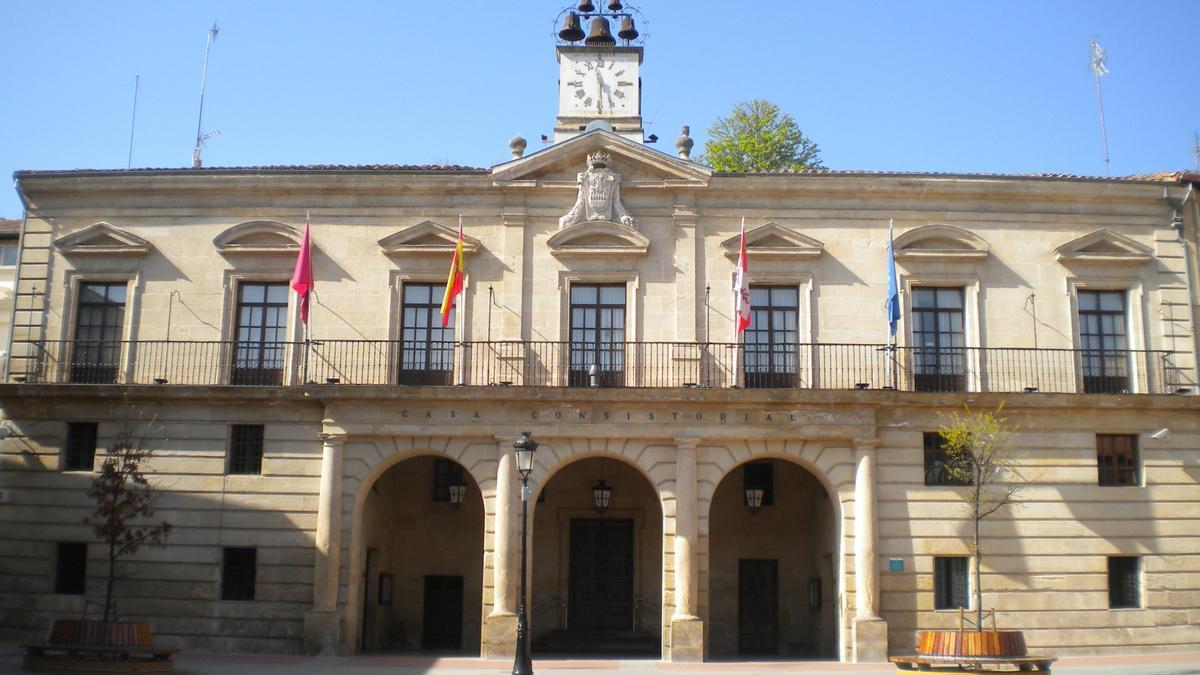 El Ayuntamiento de Miranda de Ebro en una imagen de archivo.