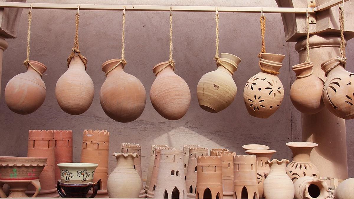 Productos artesanales de cerámica
