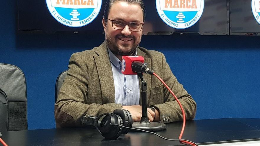 Asier Antona (PP), en Radio Marca Tenerife