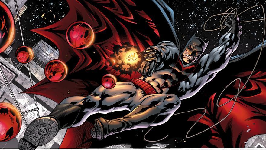 Páginas 22-23 del cómic 'Earth 2 - Annual #1' (2013) dibujada por Cafu