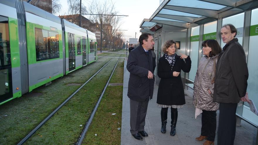 El tranvía de Vitoria supera los 48 millones de viajes en su séptimo aniversario