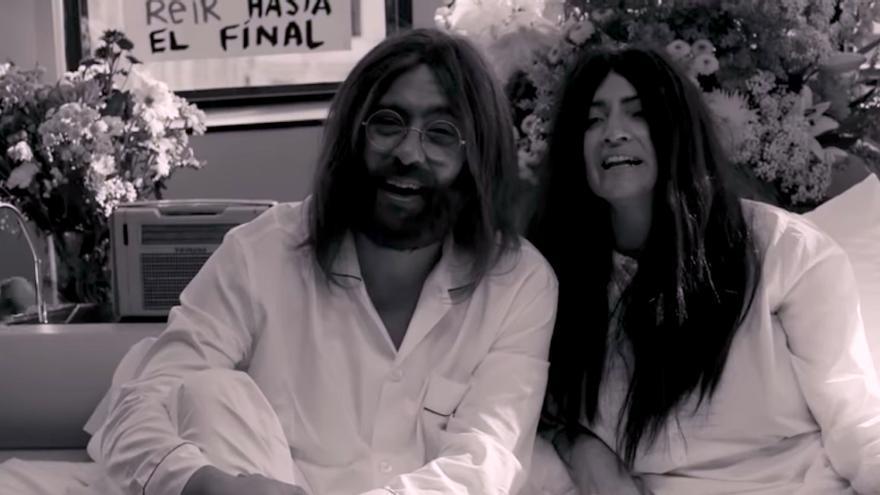 Vídeo: Buenafuente y Sílvia Abril son John Lenon y Yoko Ono en el primer spot de los Goya 2019