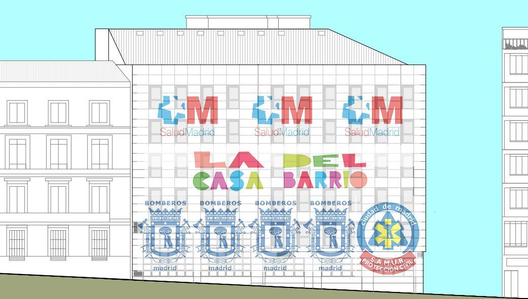 Ubicación propuesta por la Junta de Centro para los diferentes espacios de San Bernardo 68   SOMOS MALASAÑA